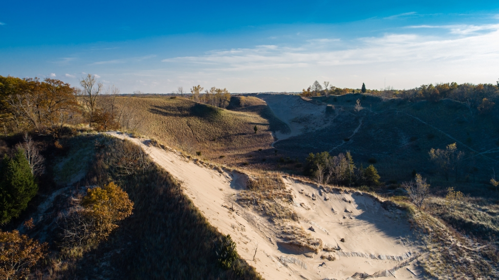 Dune Blowout at Indiana Dunes State Park