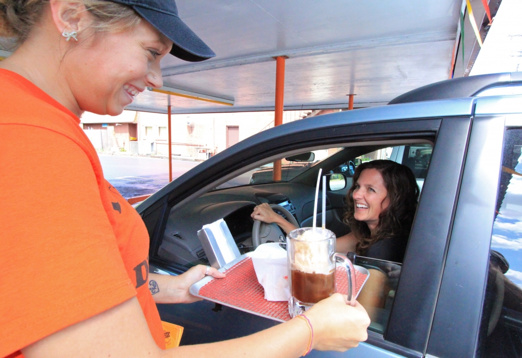Carhop at The Port