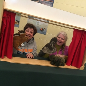 If taxidermy isn't the type of stuffed animals you like, then try a puppet show in our activities room.