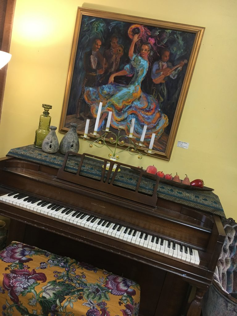 Piano and Painting