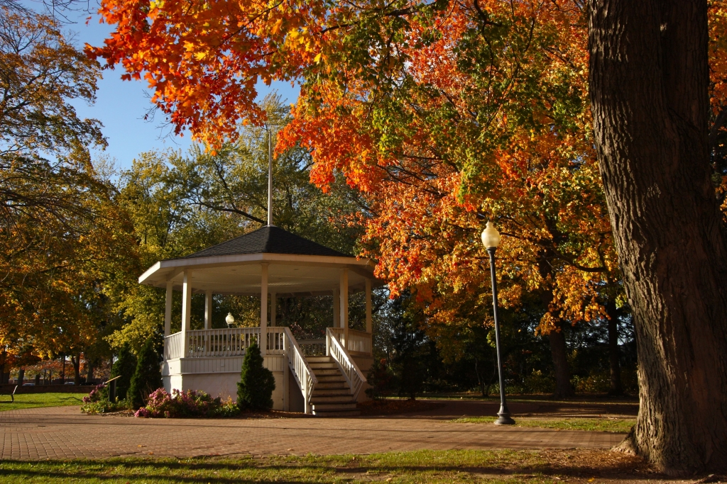 Downtown Chesterton's Gazebo